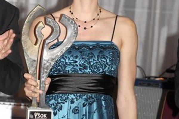 Pred pár dňami sa stala Športovou osobnosťou Košíc za rok 2011.