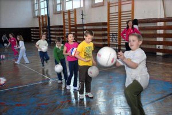 Telesná výchova a športové krúžky. Školy využívajú telocvične na 77 %.