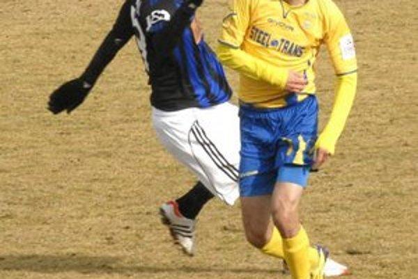 Kamil Kuzma proti Slovanu hýril aktivitou.
