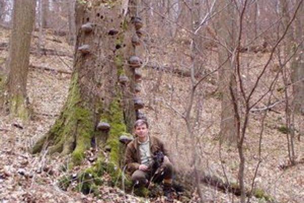Tibor Róth je vášnivý poľovník.