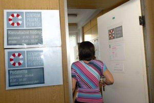 Centrum právnej pomoci má oddnes celoslovenské Call centrum v Leviciach.