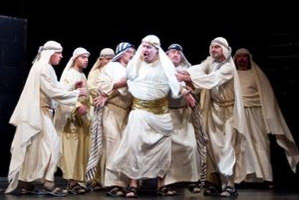 Verdiho Nabucco. Patrí k najhranejším operám. Hitom boli i predošlé košické naštudovania.