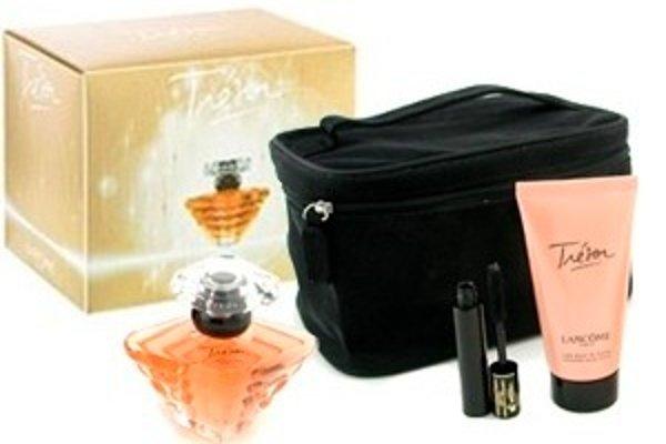 Výherný balíček obsahuje parfém, telové mlieko a riasenku.