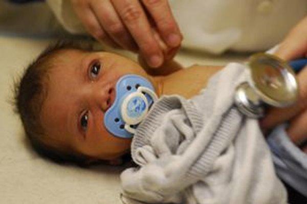 Približne mesačné dievčatko skončilo v košickej detskej nemocnici.