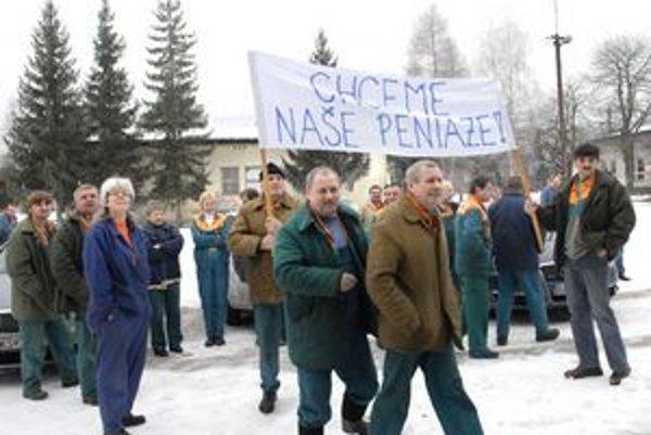 Kedy sa dočkajú moldavskí zamestnanci svojich výplat, nevie dnes povedať nik.