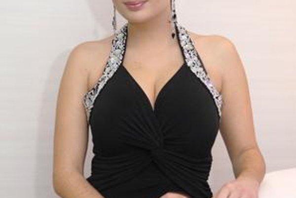 Speváčka Andrea Zimányiová.