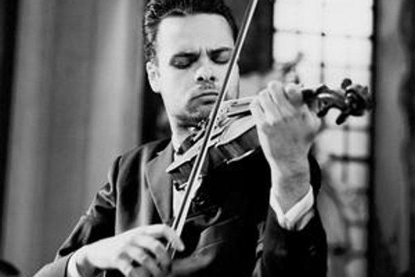 Slovenský husľový virtuóz Dalibor Karvay