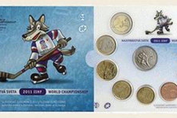 Euromince. Vydali ich pri príležitosti MS v hokeji.