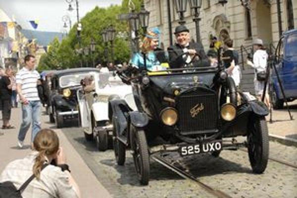 Premiéru mal v Košiciach aj Ford T z roku 1918, víťaz v kategórii do roku 1945.