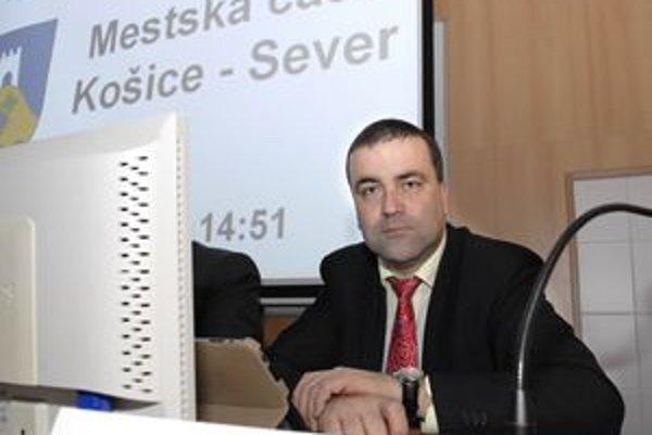 Marián Gaj. Starosta košického Severu je s projektom hokejového mestečka spokojný. Pripravuje aj ďalšie projekty.
