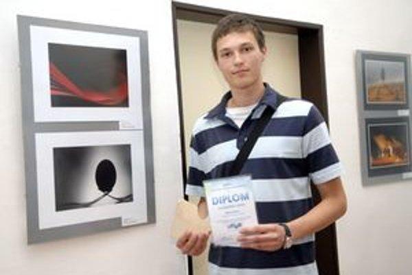 Najúspešnejší Košičan. Filip Petrík sa do súťaže zapojil prvýkrát a hneď zaujal.