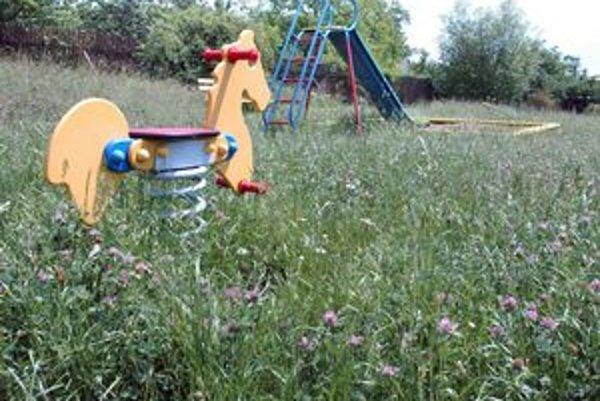 Džungľa. Deti by sa mohli v takej húšťave stratiť. Preto sa hrajú na asfalte.
