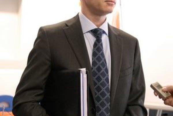 Šéf teplárne. Miroslav Nosál.