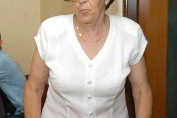 Eva Orosová. Nanastúpila na miesto kontrolórky, podala podnet na prokuratúru.