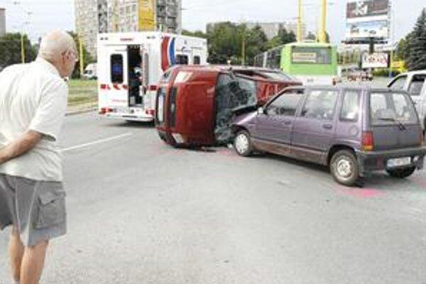 Záhadná zrážka. Ako sa nehoda stala, vyšetrujú policajti.