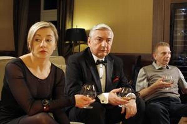 Svetová premiéra v Tatrách. Román pre mužov si v premiére pod holým nebom pozrú diváci aj herci.