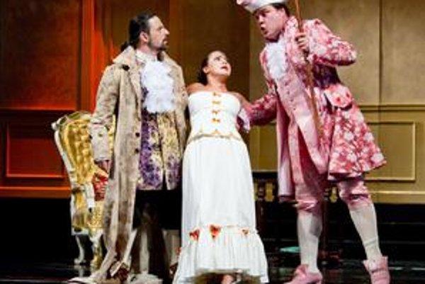 Štátne divadlo uvedie premiéru Figarovej svadby.