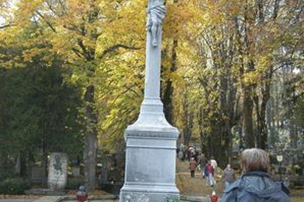 Verejný cintorín v Košiciach.