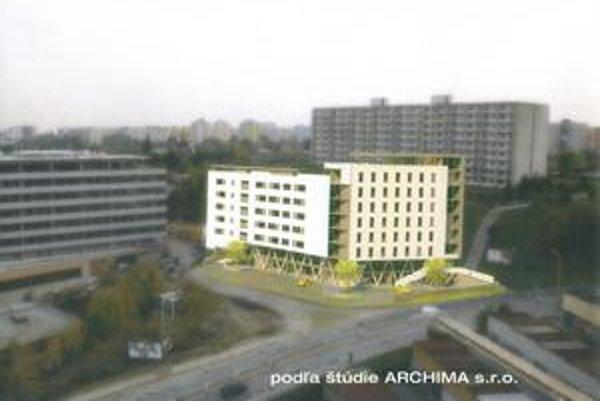 Vizualizácie domu. Takto by sa mala na Vojenskej ulici zmeniť lokalita pod internátmi.