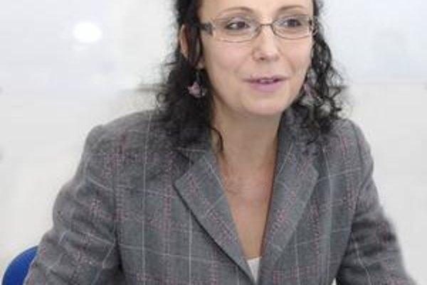 Riaditeľka Iveta Hurná. Vraví, že pôsobenie knižnice na košických deťoch vidno.