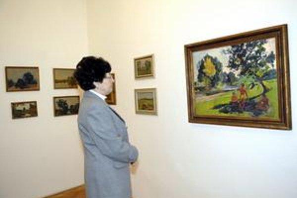 Výstava je venovaná tvorbe maliara Ernesta Rákosiho.