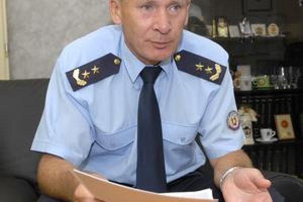 Šéf hasičov. Jozef Bodnár tvrdí, že najčastejšie horí na Terase.