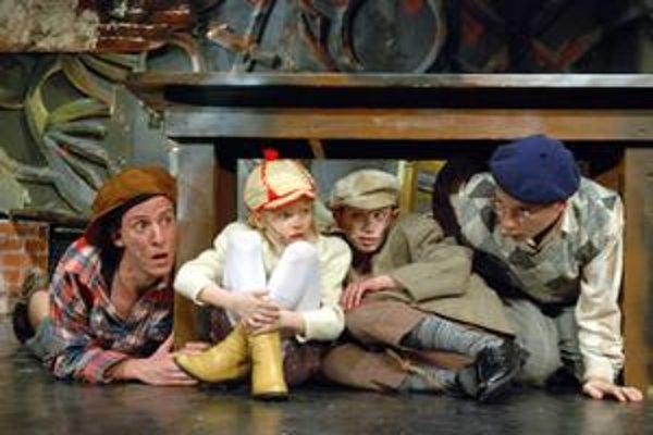 Veľkí i malí. V muzikáli sa predstavia herci spolu s detskými talentmi.