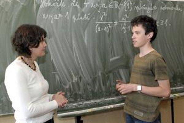 Jana Krajčiová si na taký matematický talent ako Martin nepamätá
