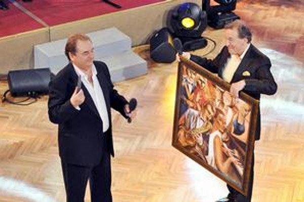 Maestro Gott Petrovi Stašákovi namaľoval obraz.