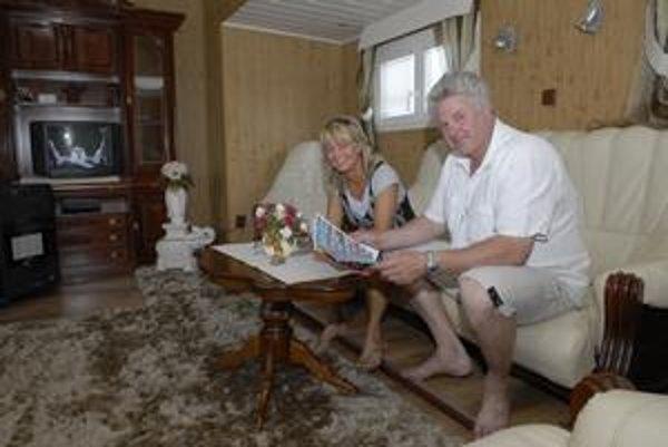 Interiér karavanu A. Polachovej ponúka rovnaký komfort ako klasický byt