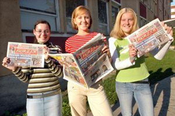 Korzár hľadá kamelotov. Študenti si môžu privyrobiť predajom novín.