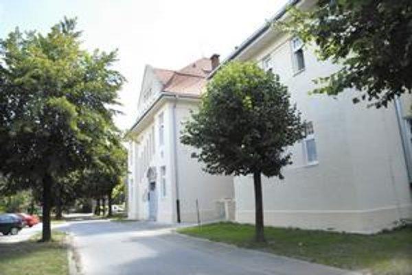 Nemocničný pavilón. Jeho obnova stála 465-tisíc eur.