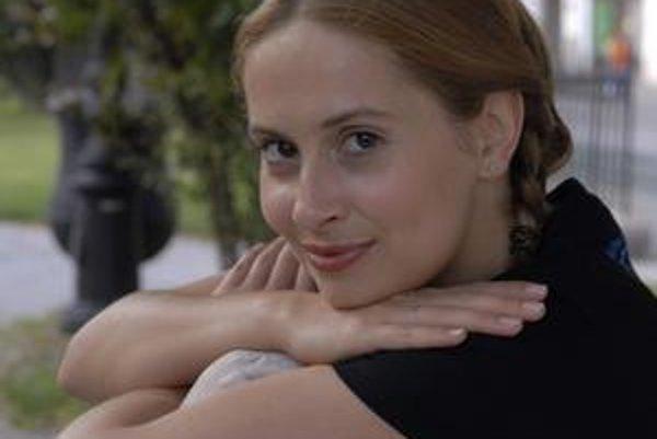 Danica Jurčová patrí k najžiadanejším slovenským herečkám mladej generácie.