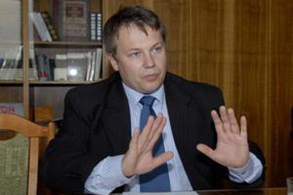 Šéf radnice Marek Kolárčik (nominant KDH).