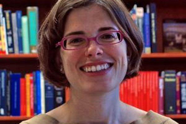 Anne B. Debevoise. Konzulka americkej ambasády nižšiu návštevnosť Slovákov neočakáva.