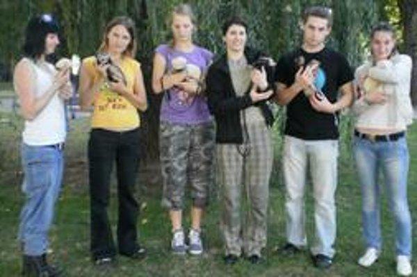 V Košiciach si dali stretnutie chovatelia fretiek