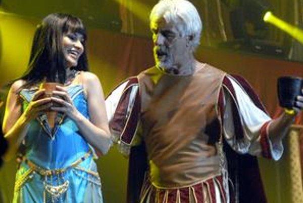 """Muzikál Kleopatra. Priniesol do Košíc veľkú """"podívanú"""" s nádhernou muzikou."""