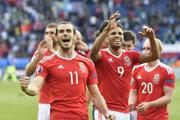 Gareth Bale patril medzi opory Walesu a hviezdy celého turnaja.