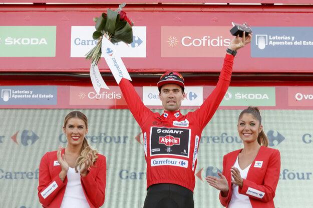 Vlani na Vuelte si Dumoulin obliekol červené tričko vedúceho pretekára ešte po 19. etape.