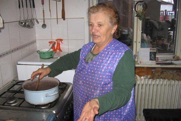 Magdaléna Bírošová varila filmovému štábu.
