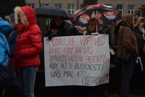 Zdravotné sestry v Prešove podali hromadné výpovede.