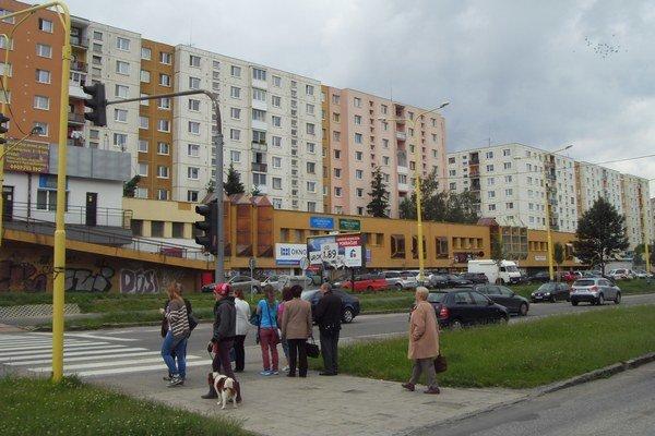 Šváby. V pláne je oprava celej Švábskej ulice.