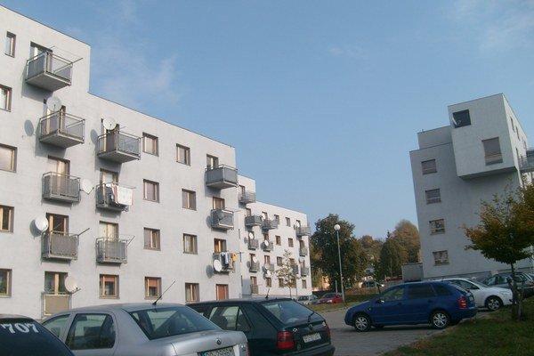 Sabinovská ulica. Posledné nájomné byty dalo mesto postaviť vroku 2006.