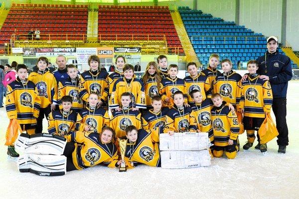Prešovské hokejové nádeje skončili na 3. mieste.