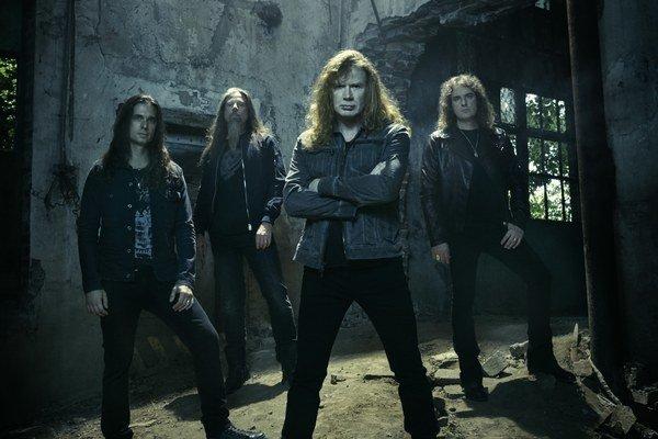 Megadeth zahrá v Prešove v júli.