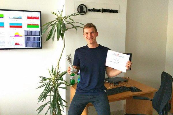 Marek Gogoľ vymyslel aplikáciu na vyhľadávanie MHD.
