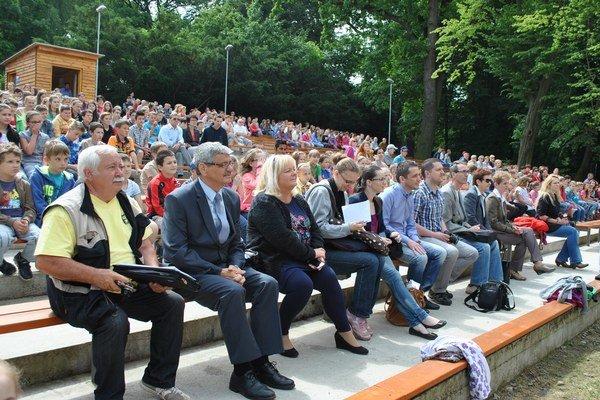 Hodnotiaca komisia v Kapušanoch.