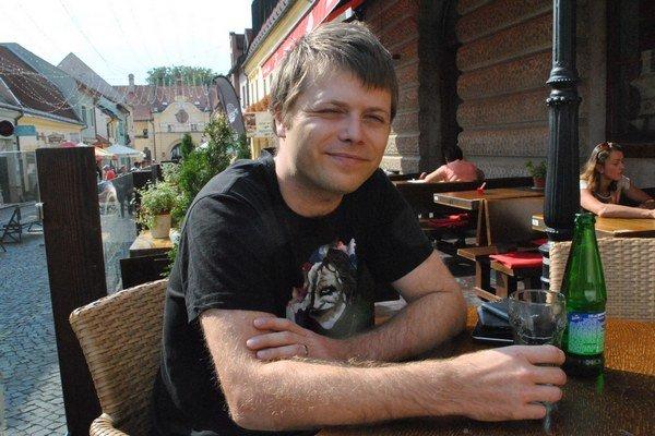 Martin Mihály. Architekt z Prešova žije v Prahe.