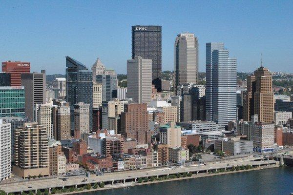 Pohľad na Pittsburgh.