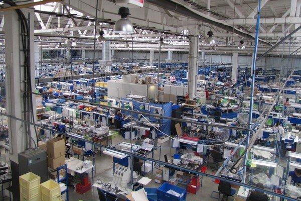 Výrobná hala v Prešove.